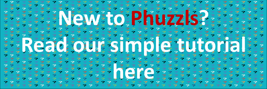 New to phuzzls read our simple tutorial here